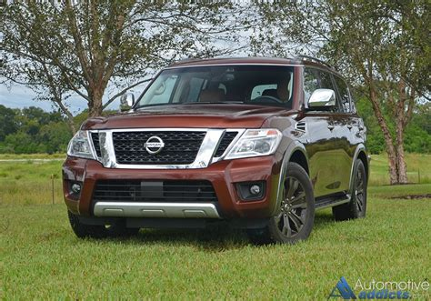 2017 nissan armada platinum 2017 nissan armada platinum awd review test drive