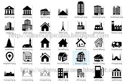 pengertian layout bengkel contoh gambar denah rumah satu lantai ide bangunan
