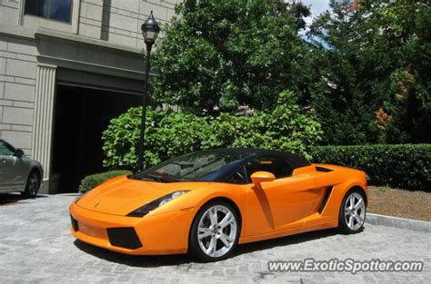 Lamborghini Ga Lamborghini Gallardo Spotted In Atlanta On 09 01 2012