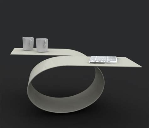futuristic coffee table with amazing loop by