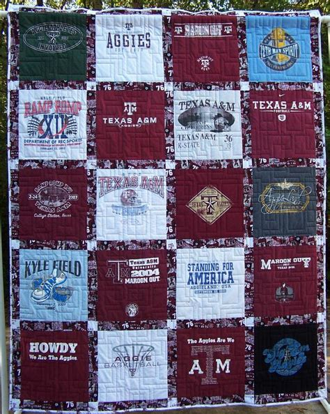 T Shirt Patchwork Quilt - perry s patchwork