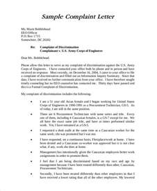 Sle Complaint Letter Against Colleague Misbehaviour Complaint Letter Sles 28 Free Word Pdf Documents