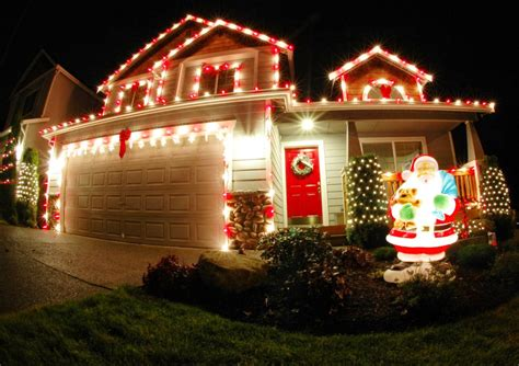 christmas light decoration ideas 50 best outdoor decorations for 2018