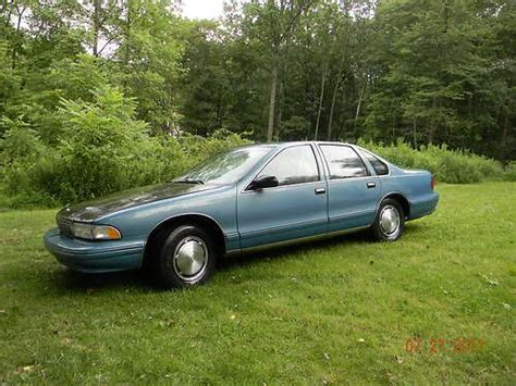 auto air conditioning service 1995 chevrolet caprice classic head up display sell used chevrolet caprice ss impala 1995 sedan 4 door 5 7lt1 350 in east stroudsburg