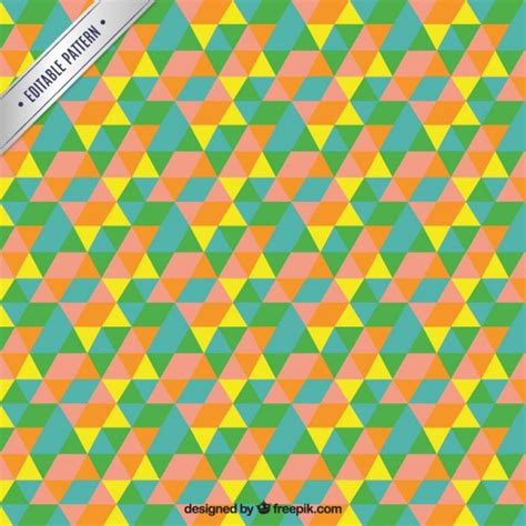 mosaic pattern download colorful triangle mosaic pattern vector free download