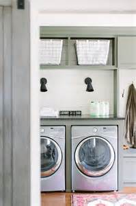 Cottage Laundry Room Ideas by Washer Dryer Shelves Design Ideas