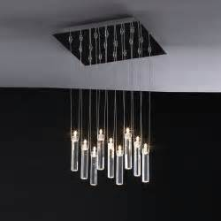 contemporary chandelier hanging modern chandelier with white rectangular shades