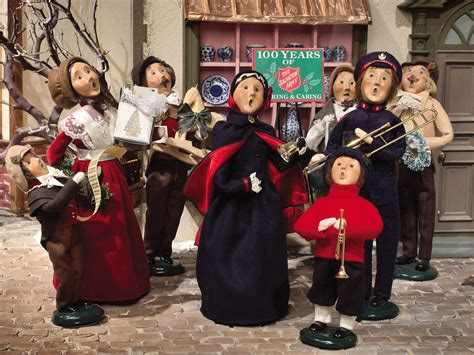 large christmas carolers figurines christmas decore