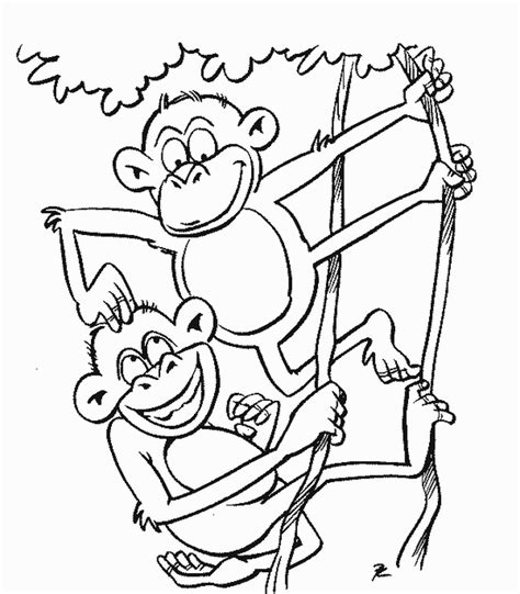 free coloring page site monkeys coloring 1 free coloring page site coloring home
