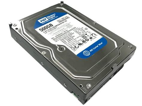 Harddisk 3 5 Wdc Blue 500gb western digital blue wd5000aaks 500gb 16mb cache 7200rpm sata ii 3 0gb s desktop 3 5