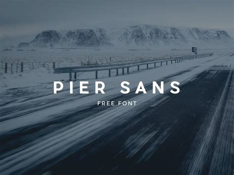 pier sans font free download 66 best free fonts images on pinterest typography fonts