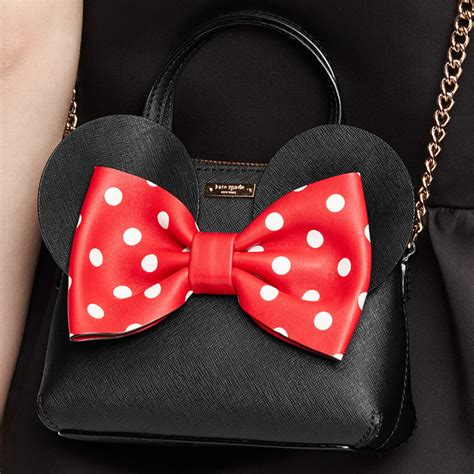 Kate Spade Minnie Mouse Bow Mini Bag kate spade pxru6512 disney minnie mouse mini minnie maise