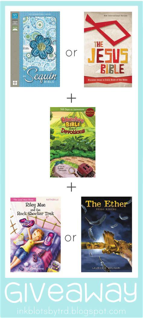 Sequin Bible Nirv Flower Zondervan ink blots by trd giveaway easter books from zondervan