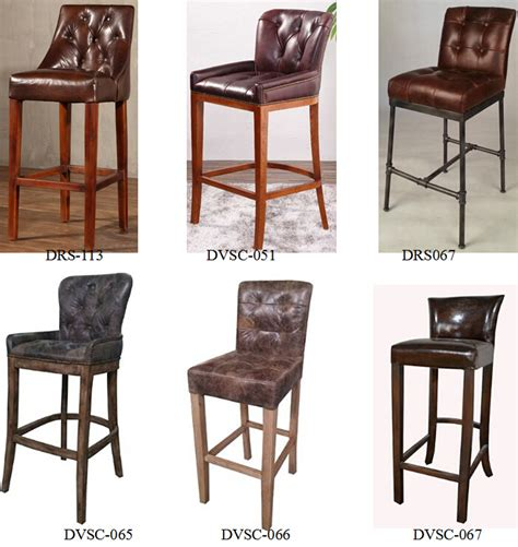 mexican bar stools leather rustic lodge antique leather tavern bar stool with oak