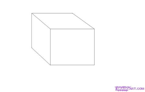 draw 3d online how to draw a 3d cube step by step line art drawing