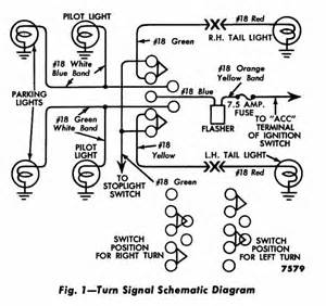 1953 turn signal wiring ford truck enthusiasts forums