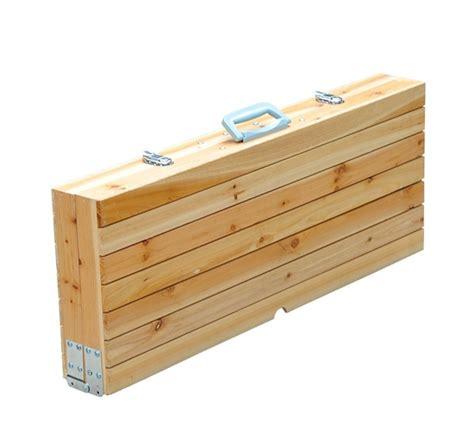 Wooden Folding Picnic Table New Outdoor Garden Wooden Portable Folding Cing Picnic Table With 4 Seats Ebay
