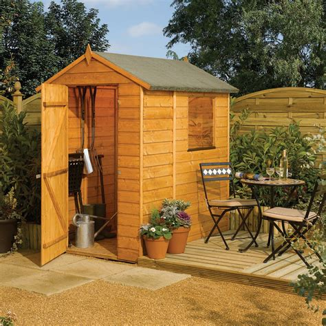 rowlinson modular  ft    ft  wooden storage shed