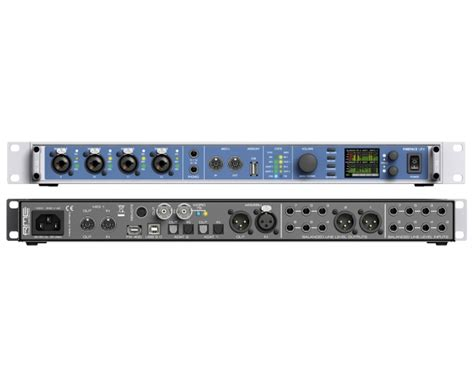 ingresso firewire rme fireface ufx interfaccia audio firewire 30 canali