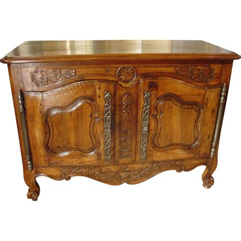 18th century woodworking 18th century walnut wood buffet provencale from