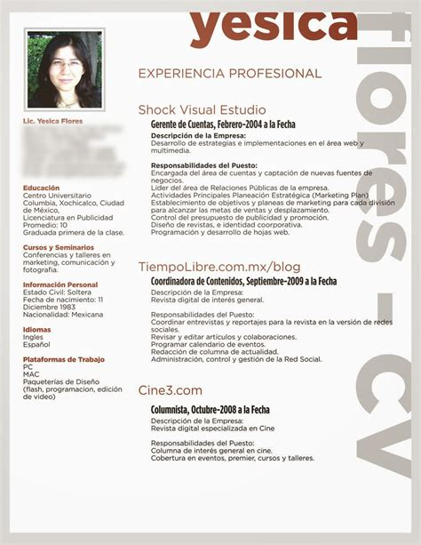 Modelo De Hoja De Vida Curriculum Vitae Wealth Management Intern Resume Portfolio Manager Resume Tips Free Resume Template Word 2007