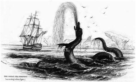 The Great Sea Serpent geogarage beware of the sea book charts