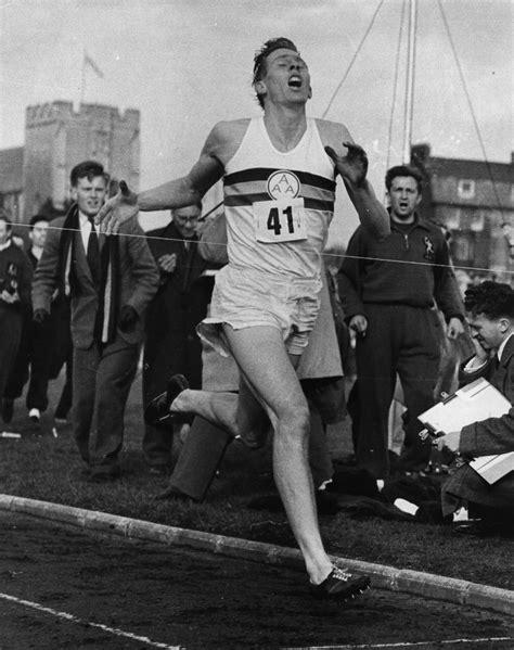 roger banister roger bannister quotes quotesgram