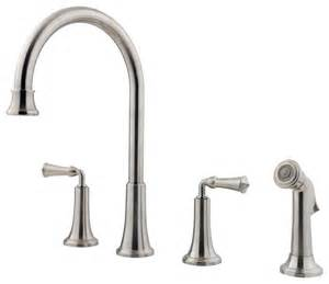 price pfister kitchen faucets price pfister 475737 bellport 2 handle 4 lead free