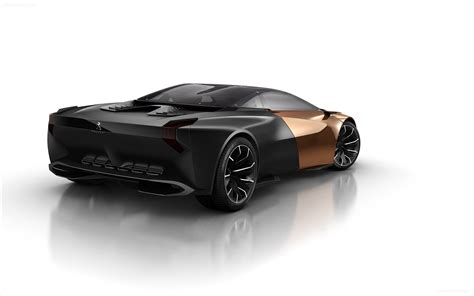 Peugeot Onyx Concept 2012 Widescreen Car Wallpapers