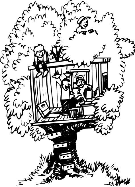 coloring pages magic tree house free coloring pages of tree house
