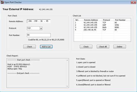 open chek tool open checker the simple forwarding test tool