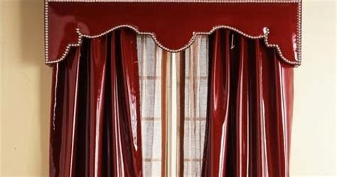 red leather curtains red leather curtains and valance bright curtains 2015