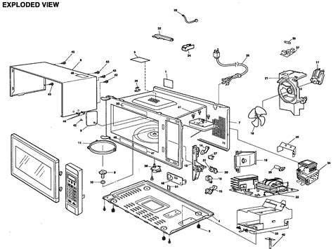 Microwave Ukuran Kecil panasonic microwave oven parts list foto gambar wallpaper 69