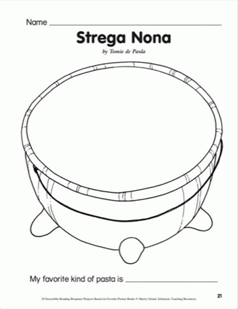 28 strega nona coloring pages coloring pages strega