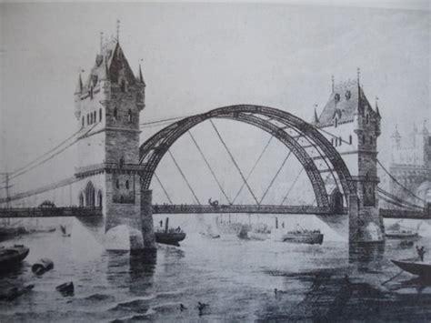 design museum london tower bridge alternative designs for tower bridge history today