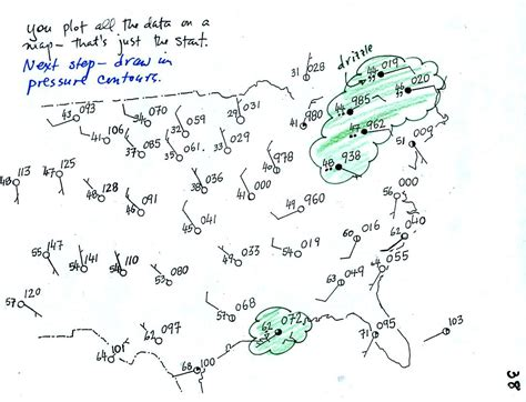 us weather map with station models fri sep 15 notes