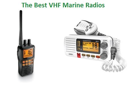 top 10 best vhf marine radios in 2018 | techsounded