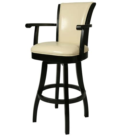 Padded Bar Stools With Backs And Arms by Stools Design Awesome Bar Stool With Arms And Back Bar