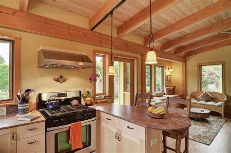 Tiny House Square Footage by Gallery River Road House A Beautiful Timber Frame