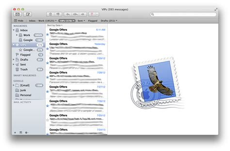 apple email how to use mail vips in os x mountain lion