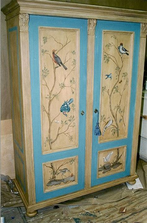 Painted Wardrobe Ideas by 25 Best Ideas About Painted Wardrobe On