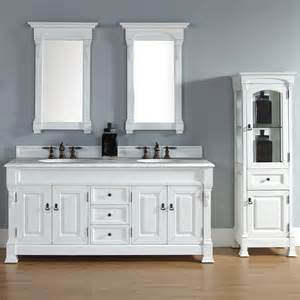 Bathroom Vanities With Sinks And Faucets James Martin 72 Brookfield Traditional Double Sink