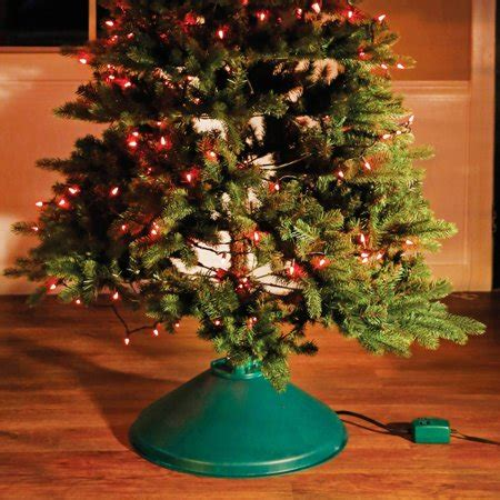 how to stand a real christmas tree tree stand ez rotate decoration walmart