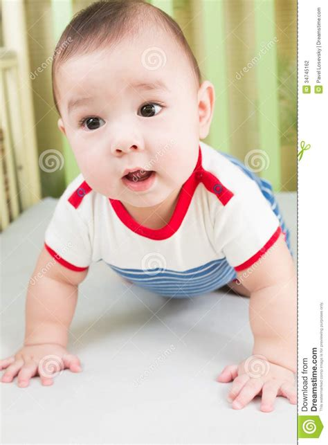 www baby sweet baby boy in striped clothes stock photography