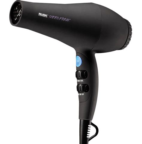 Hair Dryer Reviews rusk speed freak professional tourmaline hair dryer review