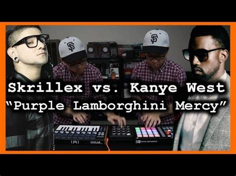 Lamborghini Mercy Remix Purple Lamborghini Mercy Skrillex Kanye West Mashup
