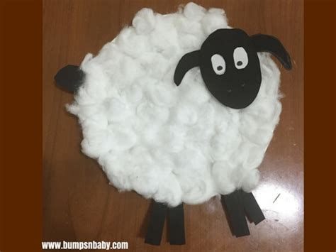 Sheep Paper Plate Craft - 4 paper plate craft ideas you can do with your preschooler