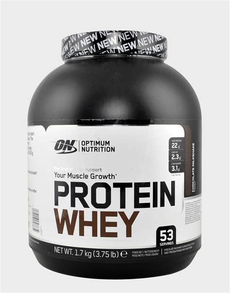 Whey Optimum protein whey by optimum nutrition 1700 grams 163 33 18