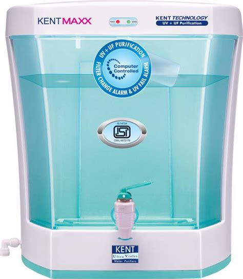 of uv l in water purifier kent maxx 7 l uv uf water purifier kent flipkart com