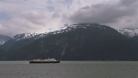ferry boat juneau haines ak may 2014 amhs ferry leconte under way in the